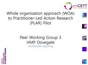 PWG3 HMP Dovegate